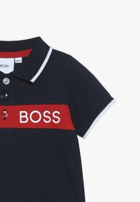 BOSS Kidswear - Piké - bleu cargo - 4