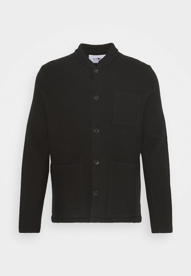 OSWALD HYBRID - Lehká bunda - black