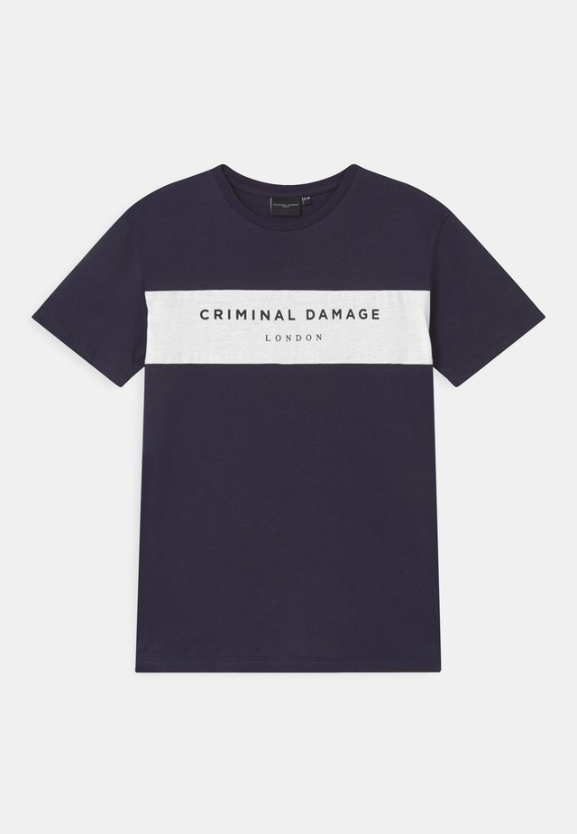 MARCUS - T-shirt con stampa - navy