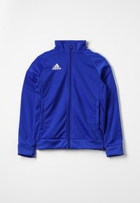 adidas Performance - CORE 18 FOOTBALL TRACKSUIT JACKET - Training jacket - bold blue/white - 0