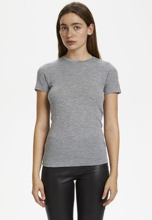 WILMAGZ  - Basic T-shirt - grey melange