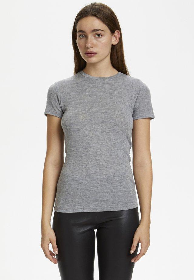 WILMAGZ  - T-shirt basique - grey melange