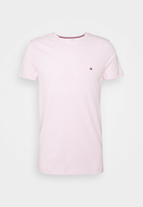 Tommy Hilfiger STRETCH TEE - T-shirt basic - light pink/rÓżowy Odzież Męska KPDU