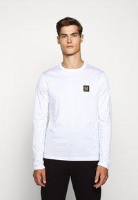 Belstaff - LONG SLEEVED  - Long sleeved top - white - 3