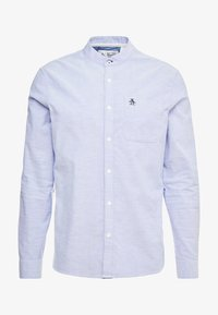Original Penguin - OXFORD BANDED COLLAR - Košile - amparo blue - 4