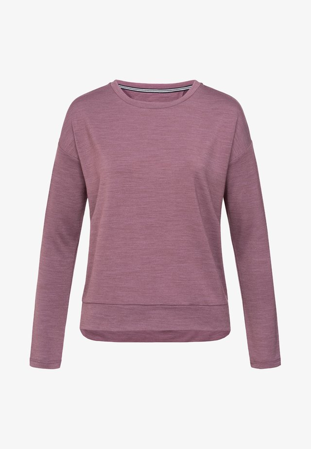 JONSER - Sweatshirt - violett