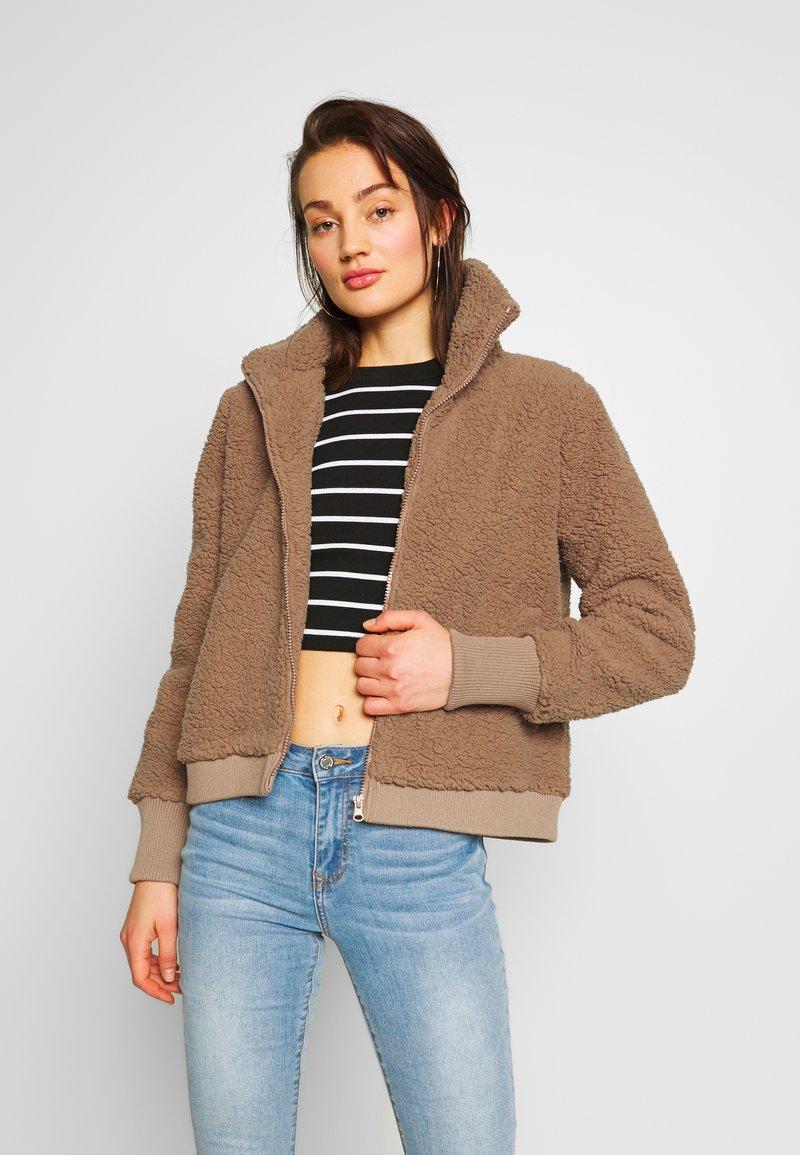 Noisy May - NMCUDDLE  - Winter jacket - burro
