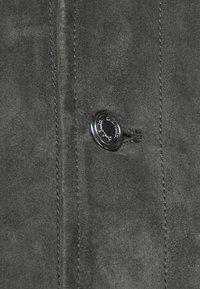 Paul Smith - GENTS - Leather jacket - dark grey - 7