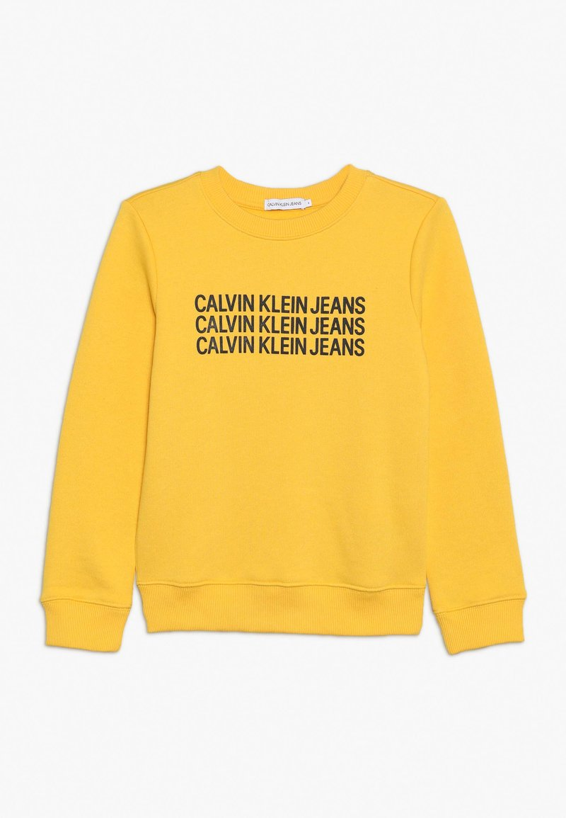 Calvin Klein Jeans - TRIPLE LOGO - Sweater - yellow