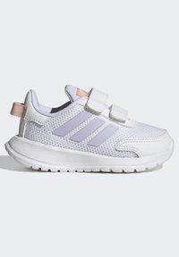 adidas Performance - TENSAUR RUN UNISEX - Neutral running shoes - ftwr white/purple tint/vapour pink - 5