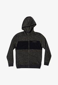 Quiksilver - Zip-up hoodie - dark grey heather - 0