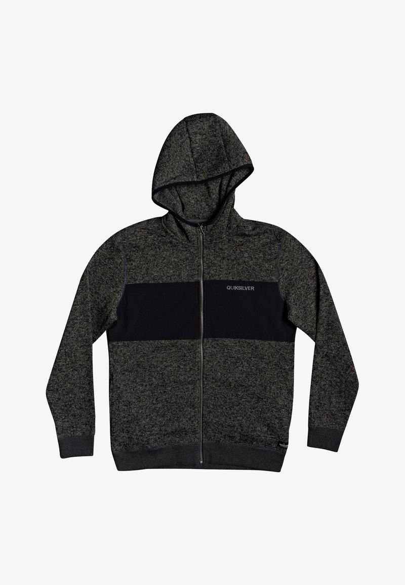 Quiksilver - Zip-up hoodie - dark grey heather