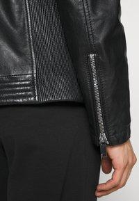 Freaky Nation - SHEEP CHARLY ACTION - Leather jacket - black - 6