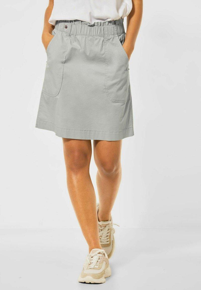 Street One - A-line skirt - grün