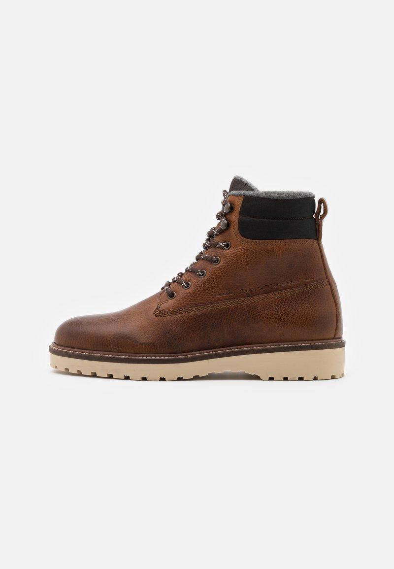 GANT - RODEN - Lace-up ankle boots - cognac