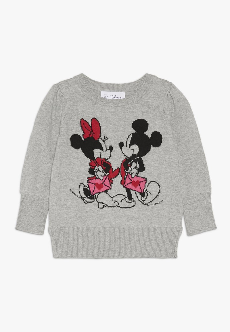 GAP - TODDLER GIRL LOVE - Svetr - grey heather