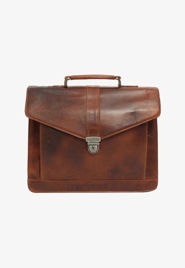 PAXTON - Briefcase - honigbraun (klickfix)