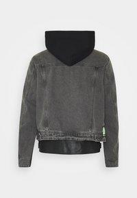 Diesel - L-IVAN JACKET - Leather jacket - black - 1