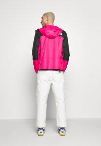 The North Face - MOUNTAIN LIGHT WINDSHELL JACKET - Windbreaker - pink - 2