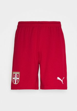 SERBIEN HOME REPLICA - Pantaloncini sportivi - chili pepper red