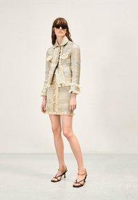 Uterqüe - Summer jacket - gold - 1