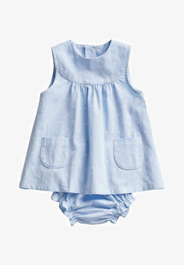 MET BROEKJE - Day dress - hemelsblauw