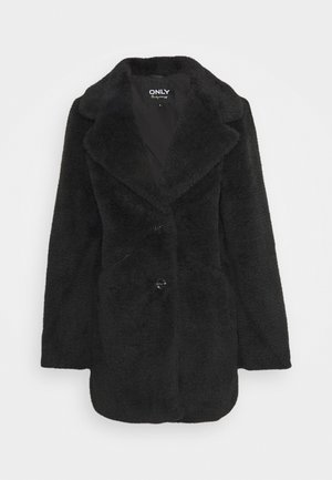 ONLANNIE COAT - Vinterkåpe / -frakk - black