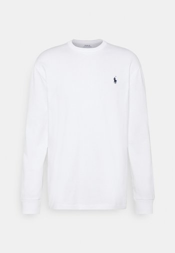 CLASSIC FIT JERSEY LONG-SLEEVE T-SHIRT - Collegepaita - white