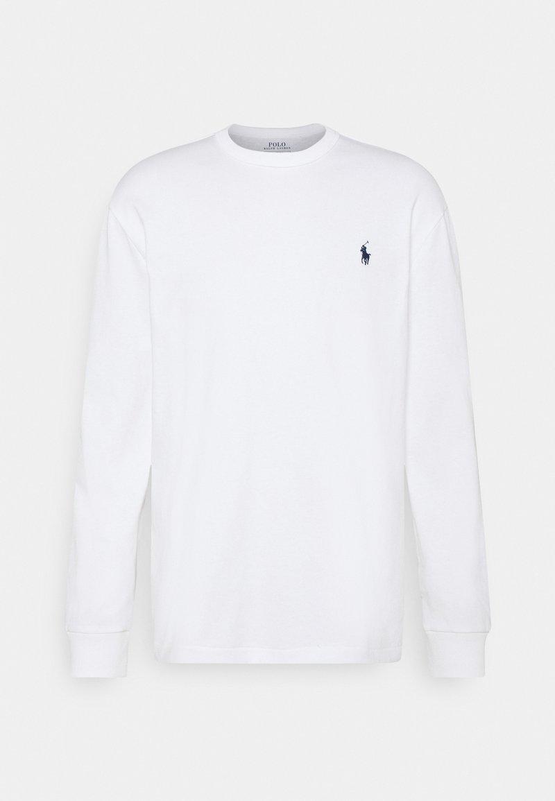 Polo Ralph Lauren - CLASSIC FIT JERSEY LONG-SLEEVE T-SHIRT - Felpa - white