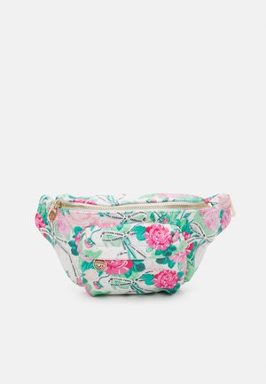 BELT BAG PRINTED FLOWER - Saszetka nerka - multi-coloured