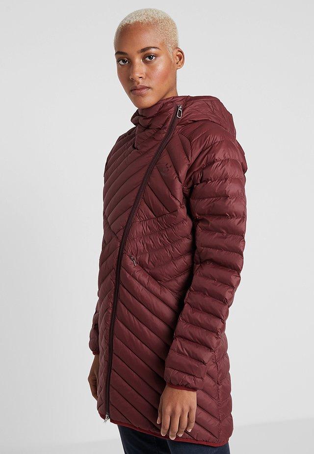 DALA MIMIC PARKA - Vinterfrakker - maroon red