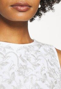 Lauren Ralph Lauren - MELLIE SLEEVELESS EVENING DRESS - Cocktail dress / Party dress - white/silver - 4