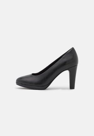 Klassiske pumps - black antic