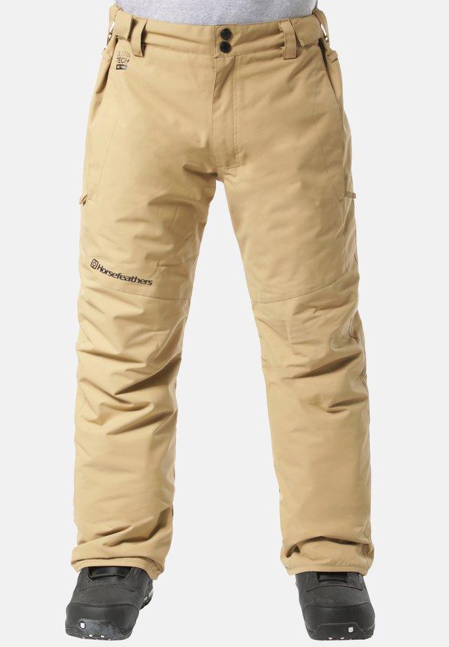 SPIRE - Snow pants - beige