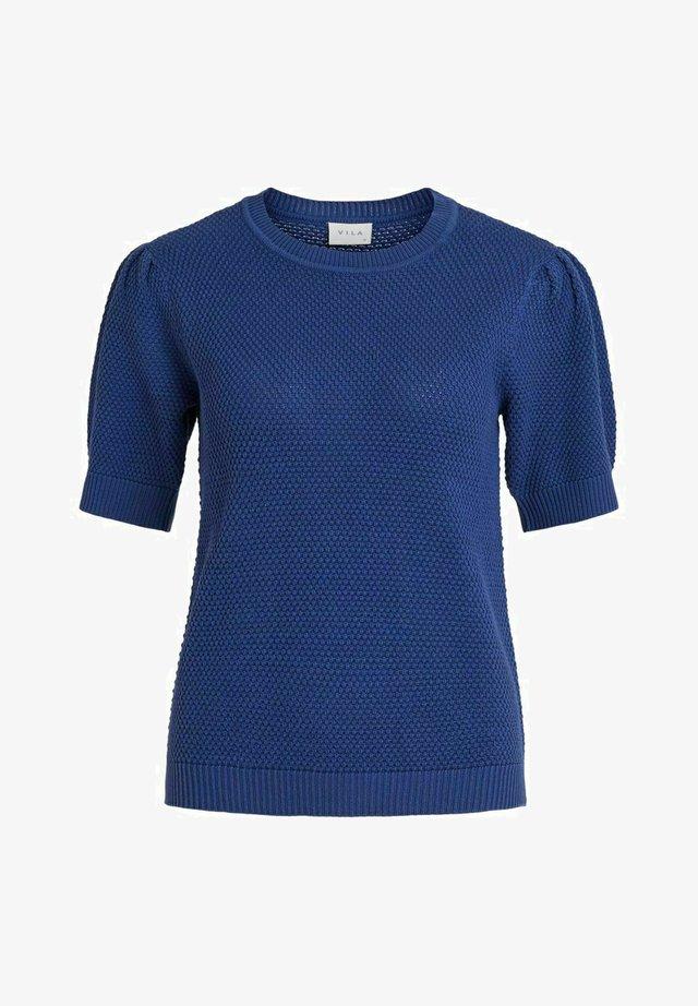VICHASSA PUFF - T-shirt basic - mazarine blue