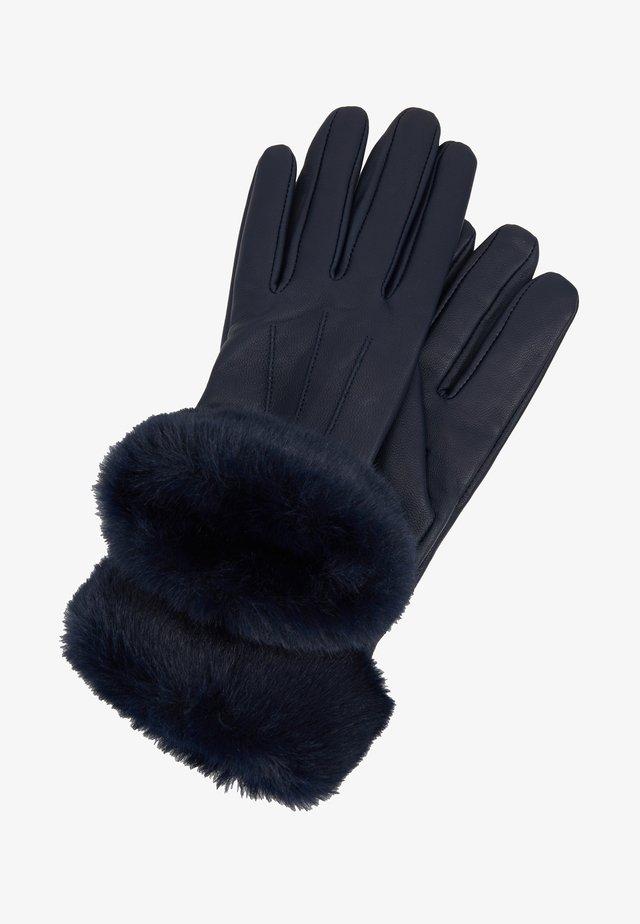 Fingerhandschuh - navy