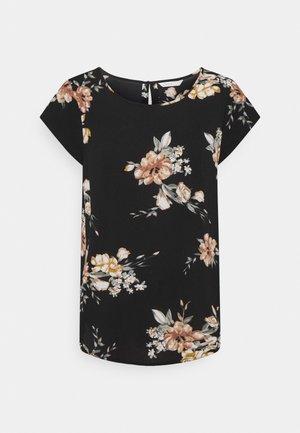 ONLNOVA LUX - T-shirt print - black
