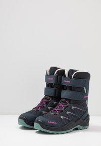 Lowa - MADDOX WARM GTX - Winter boots - steel blue/jade - 3