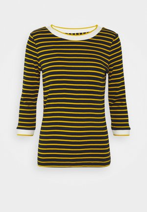 STRIPED - Long sleeved top - navy