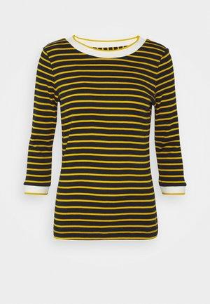 STRIPED - Maglietta a manica lunga - navy