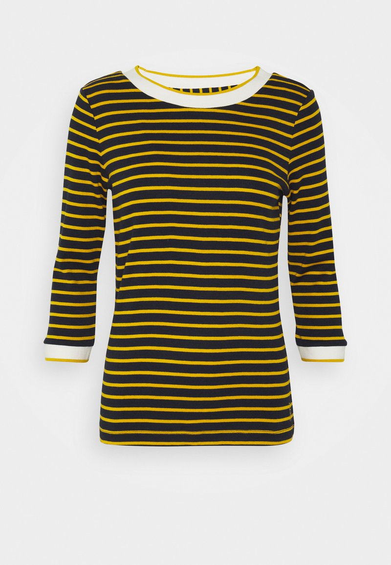 Esprit - STRIPED - Long sleeved top - navy