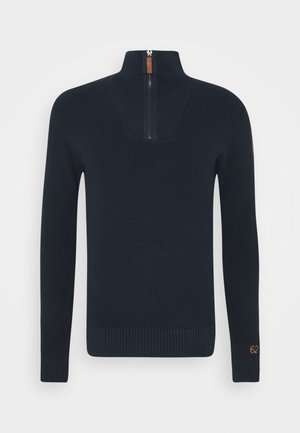 HALF STITCH TROYER - Pullover - dark blue