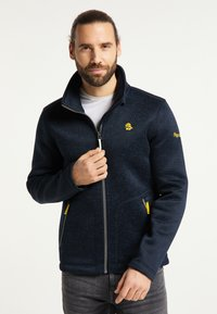 Schmuddelwedda - Training jacket - marine melange - 0