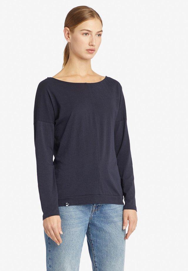 TASGA - T-shirt à manches longues - dark blue