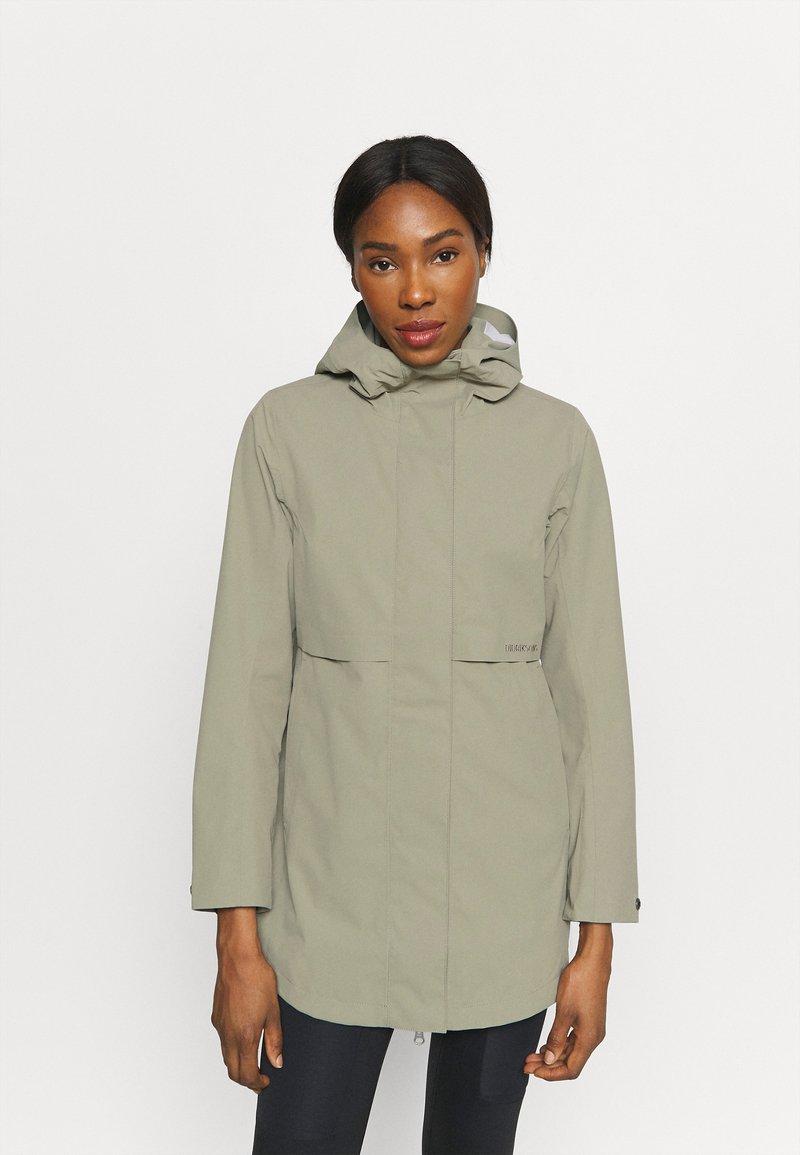 Didriksons - EDITH - Waterproof jacket - mistel green
