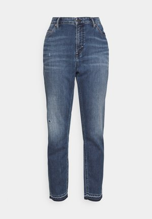 KAJ CROPPED - Straight leg jeans - wrap me in blue