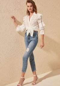 Trendyol - Slim fit jeans - blue - 3