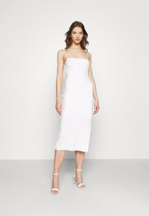 HANA MIDI DRESS - Shift dress - ivory