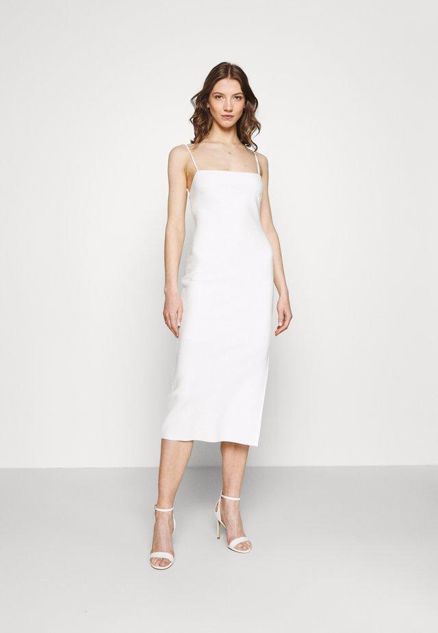 HANA MIDI DRESS - Etui-jurk - ivory