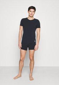 Marc O'Polo - CREW NECK - Pyjama top - nachtblau - 1